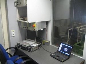 Proefstand Operator Ruimte